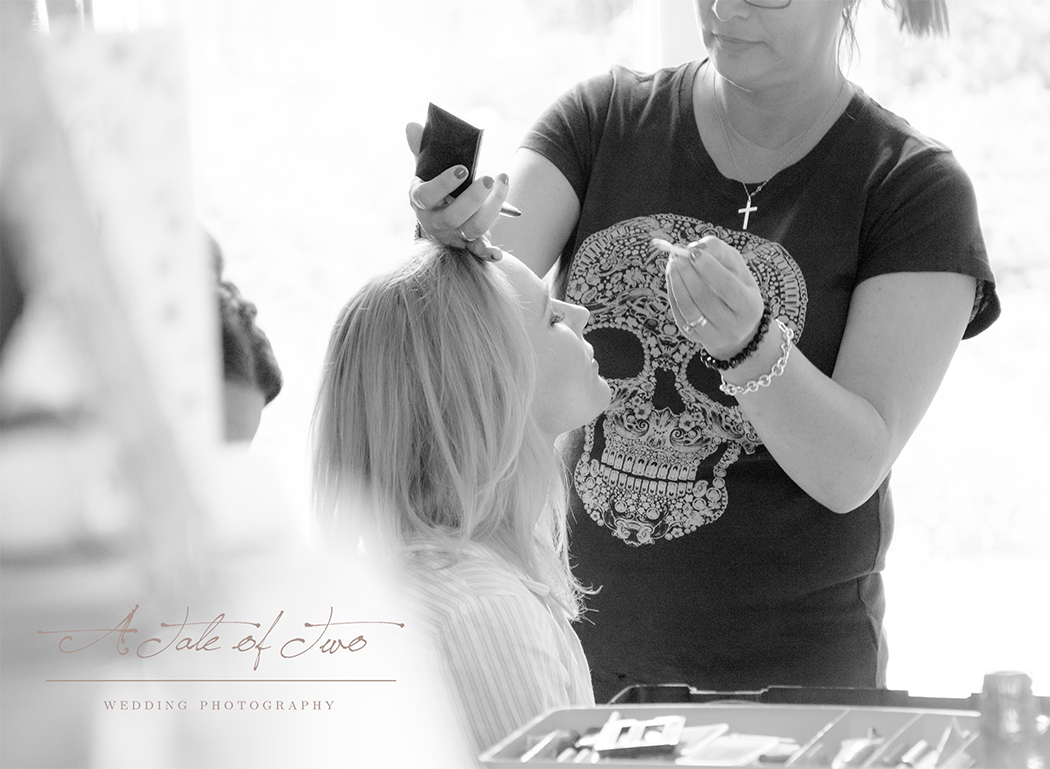 Bridal preparation for Faye and Daniel`s Wedding, Warrington...for booking info please visit www.ataleoftwo.co.uk