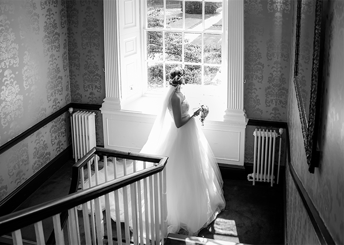 The Bride at Mottram Hall