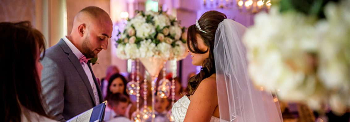Laura and Damien at Mottram Hall