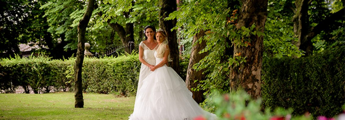 Jade and Leanne at The Bolholt Country Park Hotel