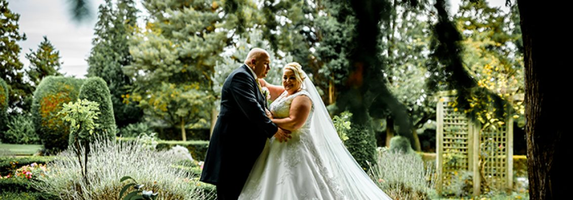 Tracy and Richy at Mottram Hall